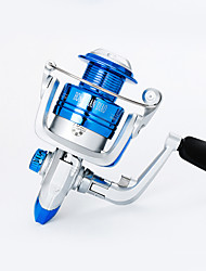 cheap -Ice Fishing Reel Fishing Reel Carp Fishing Reels Spinning Reel 5.21 Gear Ratio+10 Ball Bearings Hand Orientation Exchangable Bait Casting