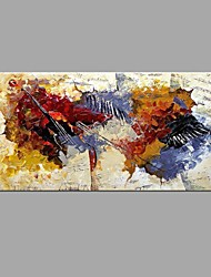 Handmade Oil Painting Abstract music notation with Wall Art Home Decor Stretched Framed Ready To Hang SIZE50*100cm