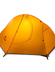 cheap -Naturehike 1 person Tent Double Camping Tent One Room Backpacking Tents Keep Warm Ultraviolet Resistant Rain-Proof Foldable for Camping /
