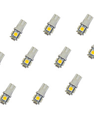 cheap -10pcs T10 Car Light Bulbs 0.8 W SMD 5050 55 lm LED Turn Signal Light For universal