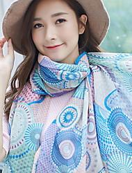 Bohemia Bbeach Tourism 2017 Cotton  Scarf Shawl Thin Long Rectangle Print Women's