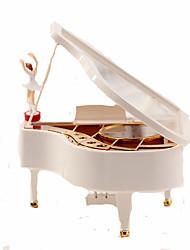 Недорогие -музыкальная шкатулка Пианино Дерево Универсальные Игрушки Подарок