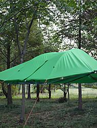 baratos -3-4 Pessoas Tenda / Abrigo para Acampamento Dupla Camada Barraca de acampamento Ao ar livre A Prova de Vento, Prova-de-Água, Resistente Raios Ultravioleta para Equitação / Campismo / Exterior