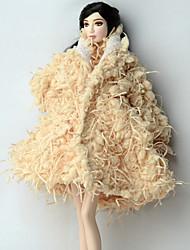 お買い得  バービードレス・アパレル-多くのアクセサリー ために バービー人形 コート ために 女の子の 人形玩具