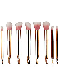 cheap -10pcs Makeup Brushes Professional Makeup Brush Set / Blush Brush / Eyeshadow Brush Nylon / Synthetic Hair Portable / Travel / Eco-friendly