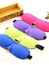 cheap -1PC Travel Travel Eye Mask / Sleep Mask Travel Rest Breathability Foldable Portable Static-free Sun Protection Polyester