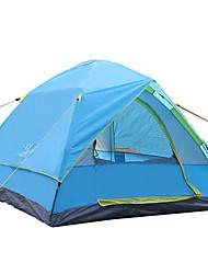 economico -3-4 persone Tenda Doppio Tenda da campeggio Una camera Pop up tenda Anti-pioggia per Campeggio Viaggi CM