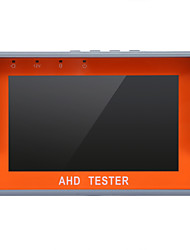 720P 1080P 4.3 Inch HD AHD TVI Camera CCTV Tester with CVBS PTZ Control & Audio Input Test & USB Output Interface
