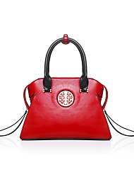 cheap -Women's Bags PU Shoulder Bag for Casual Outdoor All Seasons White Black Red