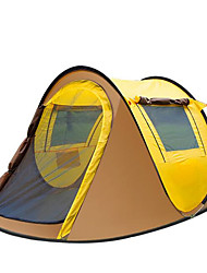 3-4 persons Tent Tent Accessories Beach Tent Single Camping Tent One Room Pop up tent Keep Warm Moistureproof/Moisture Permeability