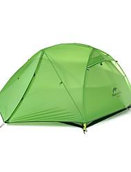 abordables -Naturehike 2 personnes Tente Double Tente de camping Une pièce Tentes de Randonnée Etanche 4 Saison pour Camping Voyage CM