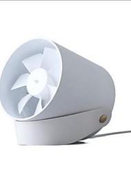 economico -Mini ventilatore portatile di piccola creatività piccolo ventilatore muto del tocco del vento del usb astuto del doppio foglio piccolo ventilatore