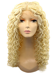 613 Color Lace Front Syntehtic Wig Kinky Curly Hair Heat Resistant Fiber Hair Curly Wig for Fashion Woman