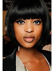 Selección caliente del color del pelo 2 de la mujer de la peluca del pelo humano del pelo corto de la venta de bobo