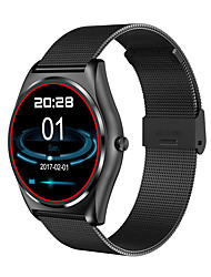 ORDRO B7 Full Round Screen Smart Watch Heart Rate Test Wireless Charging