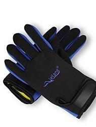 Недорогие -Дайвинг Перчатки 1,5 мм Лайкра Полный палец Сохраняет тепло, Пригодно для носки Дайвинг / катание на лодках / Каякинг