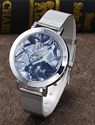 Dame Modeur Armbåndsur Quartz Legering Bånd Afslappet Sølv