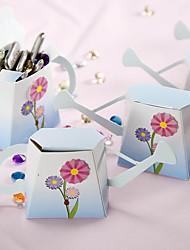 Suporte de 12 peças / jogo favorita - papel de cartão criativo favor caixas não personalizadas 13,2 x 3,2 x 6 cm / pcs