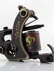 Bobina de Máquina de Tatuar Esculpido Sombreado Cobre Máquina de tatuagem profissional