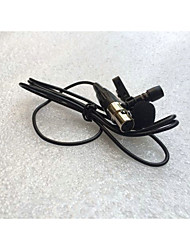 cheap -Top Quality 4Pin  Lapel Lavalier Tie Clip Microphone For Mini XLR TA4F Connector Plug Wireless Body-Pack Transmitter