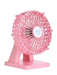 Novo usb carregador mini ventilador feliz ferris roda desktop pequeno fã ventilador aromático beleza mudo inteligente pequeno ventilador