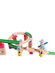 economico -Costruzioni Gioco educativo Piste da corsa per il regalo Costruzioni Legno Da 2 a 4 anni Da 5 a 7 anni Giocattoli