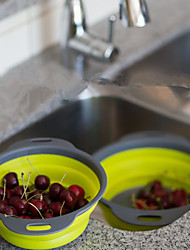 Недорогие -2 ед. Корзина фруктов For Для фруктов Для овощного Пластик Силиконовая резина Высокое качество Многофункциональный Творческая кухня Гаджет