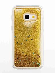 abordables -Coque Pour Samsung Galaxy A5(2017) A3(2017) Liquide Coque Brillant Flexible TPU pour A3 (2017) A5 (2017) A5(2016) A3(2016)