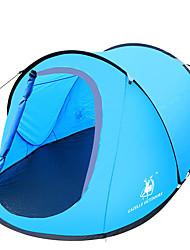 preiswerte -2 Personen Zelt Einzeln Camping Zelt Einzimmer Pop-up-Zelt Wasserdicht Windundurchlässig UV-resistant Klappbar Atmungsaktivität für