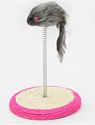preiswerte -Katze Katzenspielsachen Haustierspielsachen Maus-Spielzeug Kratzbaum Sisalhanf Für Haustiere