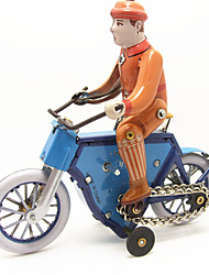 cheap -Toy Cars Wind-up Toy Toys Motorcycle Bicycle Iron Metal 1 Pieces Children's Gift