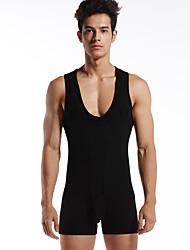 Homme Shorts de Course Sans Manches Respirable Anti-transpiration Confortable Survêtement pour Yoga Exercice & Fitness Sport de détente