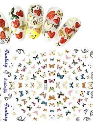 cheap -1 3D Nail Stickers Fashion Daily High Quality