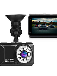 cheap -y19 Full HD 1920 x 1080 Car DVR Wide Angle 3.5 inch Dash Cam with Night Vision / G-Sensor / Parking Monitoring Car Recorder