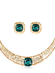 cheap -Women's Jewelry Set - Fashion, Euramerican Include Necklace Gold For Wedding Party Special Occasion