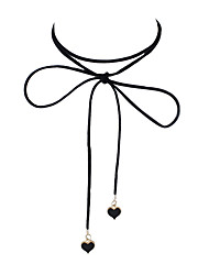 Fashion Suede Fabric Necklaces