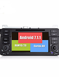 Bonroad android 7.1.1 quad core 1024 600 bil video dvd afspiller til e46 / m3 / mg / zt / rover 75/320/318/325 radio rds gps navigation