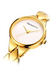 abordables -Mujer Reloj de Moda Cuarzo Gran venta Aleación Banda Encanto Plata Dorado Oro Rosa