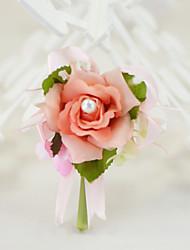 abordables -Fleurs de mariage Boutonnières Déco de Mariage Unique Occasion spéciale Fête / Soirée Fiançailles Enterrement de Vie de Jeune Fille