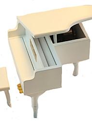 Music Box Hračky Piano Dřevo Pieces Unisex Dárek