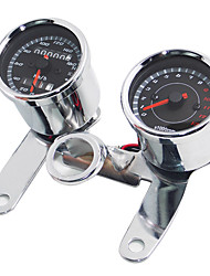 Motorcycle modified instrument assembly modified LED odometer modified tachometer