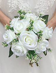 "cheap -Wedding Flowers Bouquets Wedding Satin 7.87""(Approx.20cm)"
