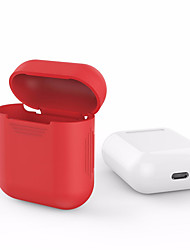 For Apple Airpods AirPods Silicone Transparent Case Protective Cover Pouch Anti Lost Protector Elegant Sleeve