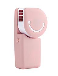 cheap -YY WT803A USB Mini Fan USB Mini Pocket Air Conditioning Fan Smile Face Charging Fan