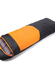 abordables -Bolsa de dormir Saco Rectangular Sencilla -35-25 PoliésterX80 Camping Al Aire Libre Mantiene abrigado