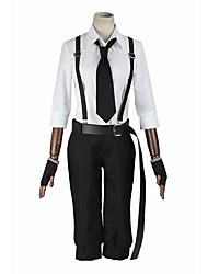 cheap -Inspired by Bungo Stray Dogs Cosplay Anime Cosplay Costumes Cosplay Suits Cosplay Tops/Bottoms Fashion Long Sleeves Coat Pants Suspenders