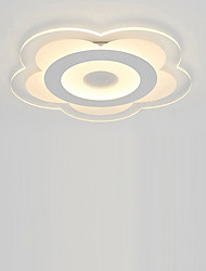 Petals Shape LED Acrylic The Bedroom Light Stepless Dimming Sitting Room Lights Remote Control Diameter 42cm