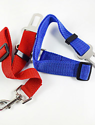 2017 new fashion 7 colors car seat belt Pet car seat belt Pet Supplies Superior quality dog Leashes cat harness