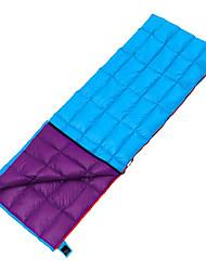 Sleeping Bag Rectangular Bag Single 10 Duck DownX70 Camping Traveling Outdoor Indoor Waterproof Breathability