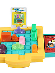 cheap -Toy Cars Board Game Educational Toy Toys Square Car Plastic Pieces Unisex Gift